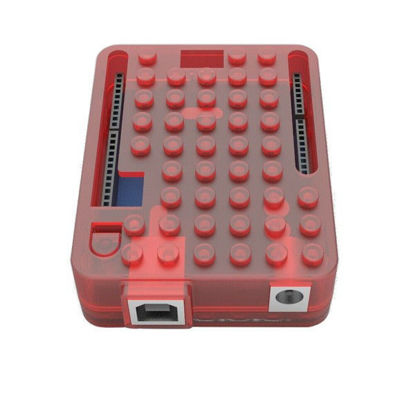 arduino plastic case enclosure red