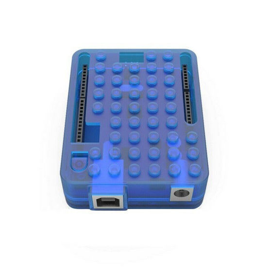 arduino plastic case enclosure blue
