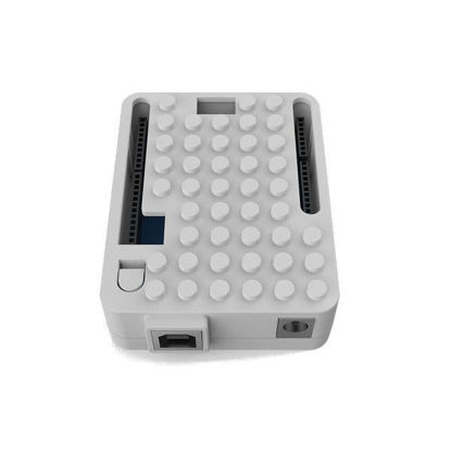 arduino plastic case enclosure white